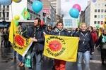 "psm nimmt an Demonstration ""Energiewende retten!"" in Düsseldorf teil"