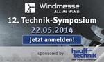 12. Windmesse Technik Symposium - Jetzt anmelden und sparen!