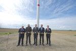 Feierliche Eröffnung des Windparks Zülpich