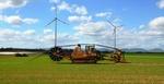 Knapp sieben Kilometer lange Leitung verbindet den Windpark mit neuem Umspannwerk in Offenbach an der Queich