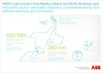 ABB awarded $400 million order for Maritime Link power project in Canada