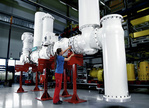 Siemens presents first gas-insulated 320-kV switchgear for direct current transmission