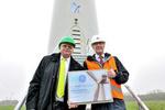 25.000ste GE-Windkraftanlage im Energiekontor-Windpark Uthlede installiert