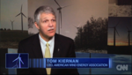 AWEA - On CNN, AWEA CEO Tom Kiernan highlights wind power's progress