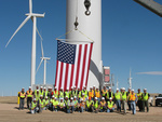 North Dakota wind farm shows made-in-USA credentials of industry