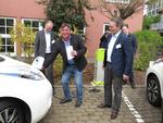 in.power und grün.power weihen ihre erste Ökostromtankstelle in Mainz ein und veranschaulichen Konzept der Elektromobilität