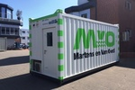 ELA Container Offshore GmbH liefert Offshore Büro-Container für Martens en van Oord