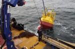 Erste kommerzielle Offshore-Messung mit IWES LiDAR-Boje