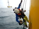 Germany: Repairs at high sea - Long-lasting rust protection for offshore wind turbines