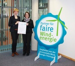 Sabowind als fairer Windkraft-Projektierer zertifiziert