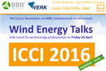 ICCI 2016: Wind Energy Talks