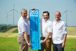 Höchste Windräder Österreichs drehen sich im Weinviertel
