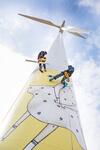 1. Kunst-Windrad Mitteleuropas steht in Österreich