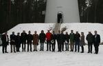 Zwanzigköpfige Delegation aus dem Iran besichtigt Windpark Uckley-Nord