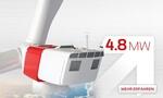 eno energy präsentiert zur Husum-Wind Messe eno 114 und eno 126 mit 4,8 MW Leistung