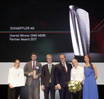 Schaeffler zum Gesamtsieger des DMG MORI Partner Award 2017 gekürt