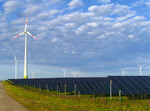 Windräder und Photovoltaikanlagen im Dienste der Versorgungssicherheit