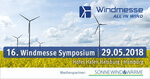 16. Windmesse Symposium 2018: Call-For-Papers