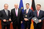 Peter Altmaier tritt Amt als Bundesminister für Wirtschaft und Energie an