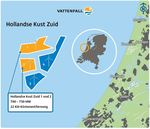 Vattenfall wins tender Hollandse Kust Zuid