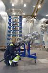 Einweihung von Borealis' neu erweitertem Hochspannungs-Testlabor in Stenungsund, Schweden