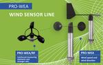 PRO-WEA Wind Sensor Line: Ultra robust und sturmbeständig