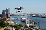 Hamburg wird EU-Modellregion für Drohnen