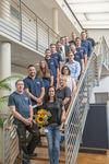 Hauff-Technik GmbH & Co. KG begrüsst neue Auszubildende und beglückwünscht 300. Mitarbeiter