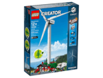 For Small and Big Children: Vestas Wind Turbine Made of LEGO