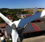 Even in Franconia you use the wind to generate electricity!