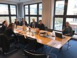 Armenische Delegation informiert sich über Windenergie in Deutschland