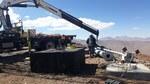 Montageaufbau der ANTARIS auf über 5.000m Höhe