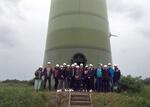 wpd Gruppe öffnet Pforten: Schüler blicken hinter die Kulissen und lernen Jobs der Windbranche kennen