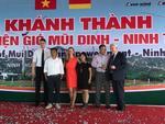 """Feierliche Eröffnung des Windparks """"Mui Dinh"""""""