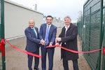ENEL Green Power, ENERTRAG und Leclanché weihen das erste deutsche Batterie-Energiespeichersystem (BESS) in Cremzow ein