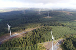 innogy Finishes Turbine Installation at Clocaenog Forest Wind Farm in Wales