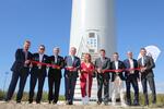 Erster italienischer W.E.B-Windpark eröffnet