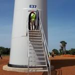 Größter Windpark Westafrikas geht noch dieses Jahr ans Netz