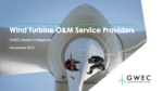GWEC launches Global O&M services report and database as part of its Market Intelligence Platform