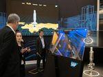 Ausstellungsbereich Digital Ecosystems im Zentrum der HANNOVER MESSE