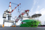 HLC-installation near to completion: Heavy Lift Crane HLC 295000 reaches next milestone