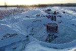 Harter Kampf gegen den Fels: wpd europe GmbH schließt Infrastruktur- und Fundamentbau für schwedischen Windpark Aldermyrberget ab