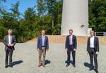 Windpark Siegfriedeiche geht in Betrieb