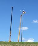 Die Antaris 12 kW Windanlage auf 30m!