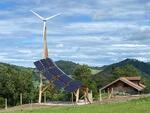 Energía eólica y solar con un diseño inconfundible en Austria!