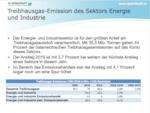 Treibhausgasbilanz 2019 zeigt: Fehlentwicklung bei der Stromproduktion hält an
