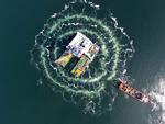 Van Oord's heavy lift vessel Svanen completes installation works for Danish Kriegers Flak Offshore Wind farm