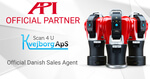 New partners for 3D metrology in Denmark: API and KvejborgApS