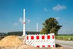Erste Anlage des Windparks