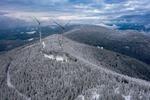 Schnee und Eis machen Solar- und Windparks zu schaffen